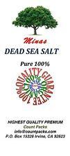 10 LB Dead Sea Salt Pure 100% From MINAS Free Shipping 10 LB Fine Grain BULK
