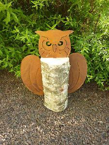 Edelrost Garten Vogel Gartendeko Rost Vogel Deko Garten Vogel Rost 13*11*7cm