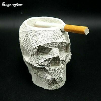 3D geometry skull mold learning sketch tool plaster candle concrete silicone