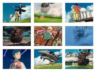 Howl's Moving Castle Hauru, Hayao Miyazaki Print Posters Ghibli Studo A3 Size