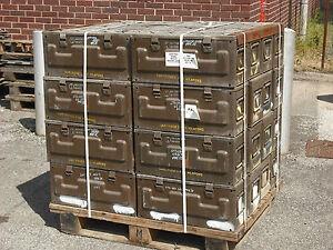 ammunition box steel box delivery not included west yorks ebay rh ebay co uk Ammo Box Decoration Ideas Ammo Box Inserts