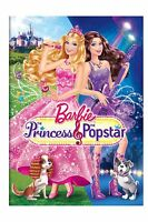 Barbie: The Princess & The Popstar (dvd, 2012) Brand New, Sealed Free Shipping