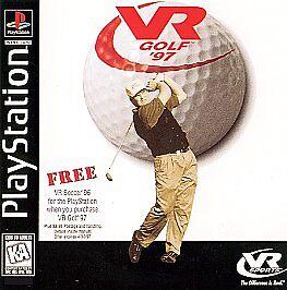 1 of 1 - VR Golf '97 (Sony PlayStation 1, 1996)G
