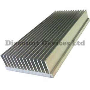large aluminium heat sink power amplifier power supply transistor ic fet pa ebay. Black Bedroom Furniture Sets. Home Design Ideas