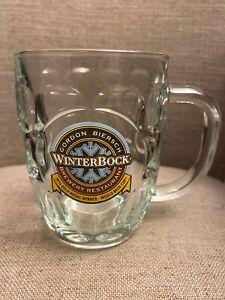 Gordon Biersch  Brewery Restaurant WinterBock Stein Mug .5L Bier Glass