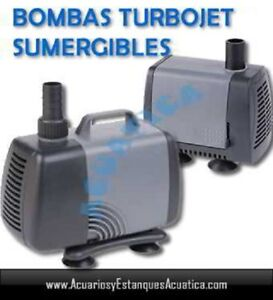 TURBOJET-BOMBA-DE-AGUA-1080l-h-14w-ACUARIO-BELENES-FUENTE-CASCADA-ESTANQUE-PECER