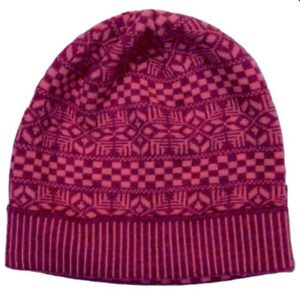 Versace-Knitted-Beanie-Wool-Hat-Pink-NWT-375
