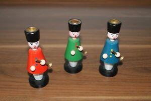 Weihnachten, Kerzenständer Figuren 3 Stück - Chemnitz, Deutschland - Weihnachten, Kerzenständer Figuren 3 Stück - Chemnitz, Deutschland