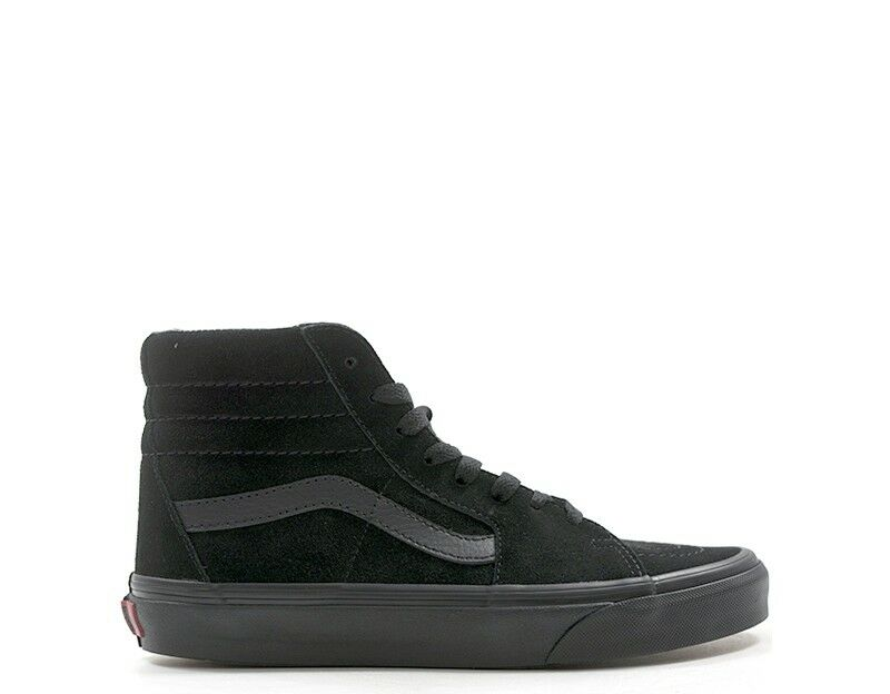 shoes vans woman black leather vd 5 ibka-d