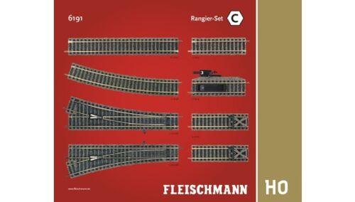 Fleischmann 6191 schienenset oltrepassare C h0