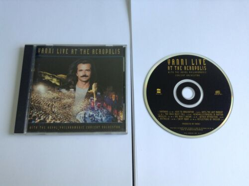 1 of 1 - Yanni - Live At The Acropolis (CD 1994)