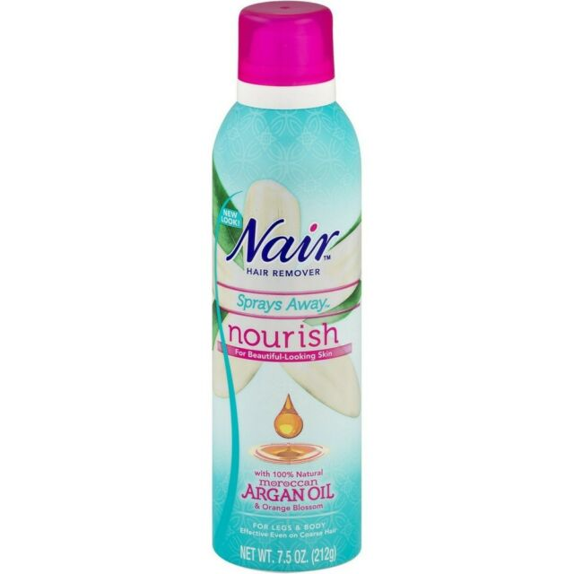 Nair Sprays Away Moroccan Argan Oil With Orange Blossom Max Hair