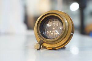 Ross-Unar-Zeiss-Patent-210mm-F5-Brass-Large-Format-Wet-Plate-Lens