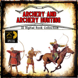 Archery-and-Archery-Hunting-32-books-on-traditional-bows-arrows-and-more