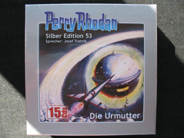 PERRY RHODAN SILBER-EDITION Nr. 53 – DIE URMUTTER – 15er CD – Box, NEU OVP