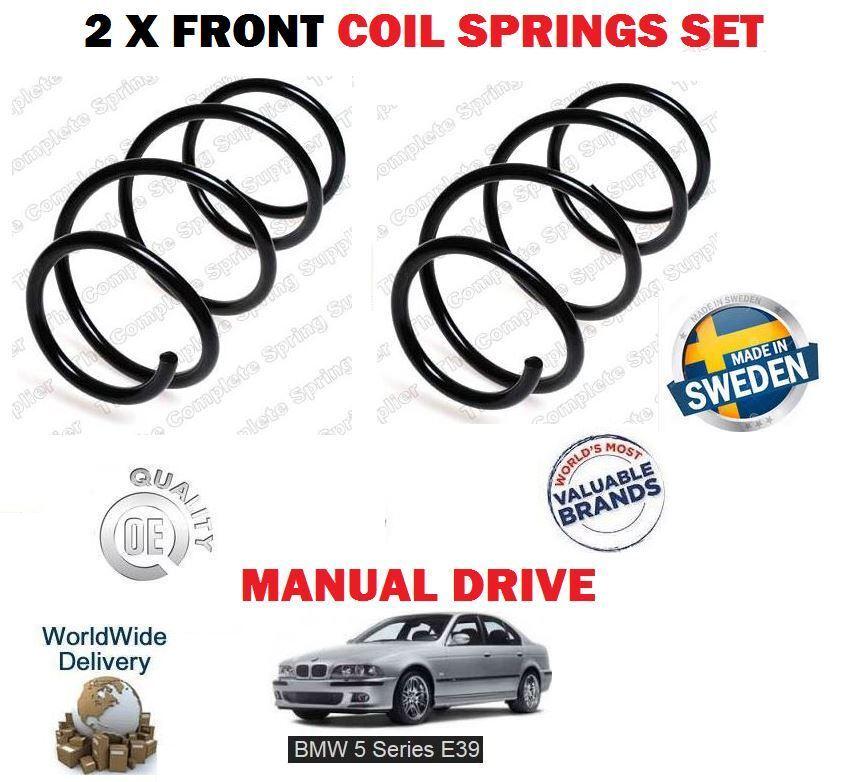 Für BMW E39 520 523 525 528 530 520d 1995-2003 2 X Fahrwerksfedern Satz