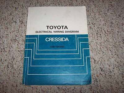 1986 toyota cressida wiring diagram 1987 toyota cressida electrical wiring diagram manual std luxury  electrical wiring diagram manual std