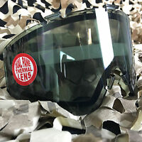 Jt Spectra & Flex Paintball Mask Dual Pane Thermal Anti-fog Lens - Smoke