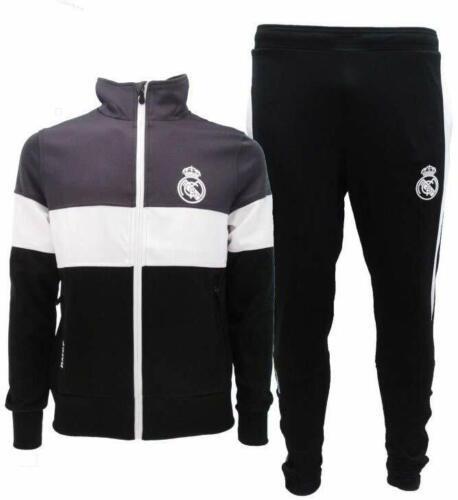 Survêtement Real Madrid Officiel 2019 2020 Veste Et Pantalon Blancos Merengues