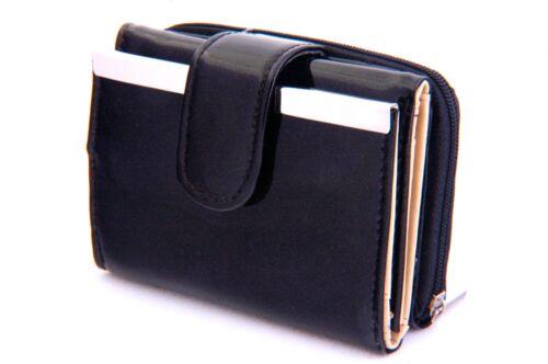 Credit Card Hold Mini Wallet Trifold Magnet Snap Closure Exterior pocket CB1754