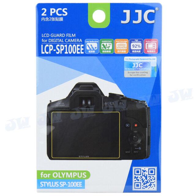 JJC LCD Guard Film Camera Screen Display Protector For Olympus STYLUS SP-100EE