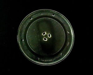 """10 1/4"""" Diameter Microwave Oven Round Glass Cooking Tray / Plate, TEREX"""