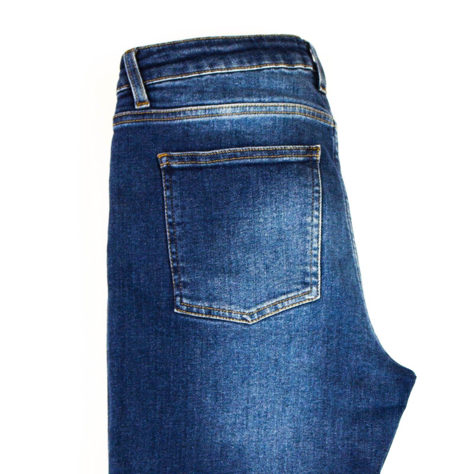 Acne Studios Femme Jeans Peau 5 Utilisé blue CZ576 Jeans W30 L30