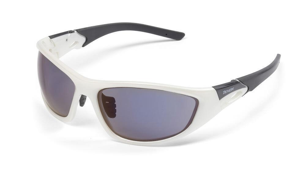 DEMON POWER pearl white Sportbrille Polykarbonat polycarbonate