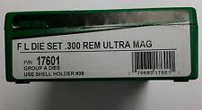 RCBS Full Length Die Set for 300 Remington Ultra Mag,  RUM,  #17601, NIB