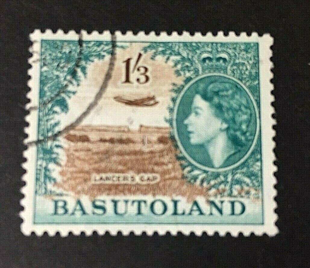 Basutoland: 1954, Queen Elizabeth definitive 1/3d, SG 50, Fine used