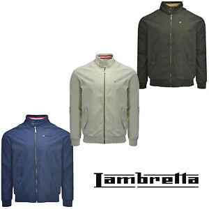 Lambretta-Harrington-Raglan-Jacket-Monkey-Shower-Resistant-Lightweight-Mens-Coat