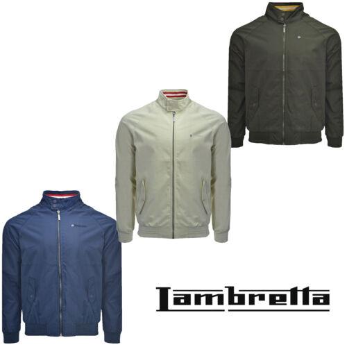 Lambretta Harrington Raglan Jacket Monkey Shower Resistant Lightweight Mens Coat