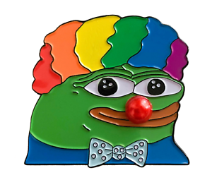 Honkler-Clown-World-Enamel-Pin-Limited-Edition-Lapel-Hat-4chan-meme