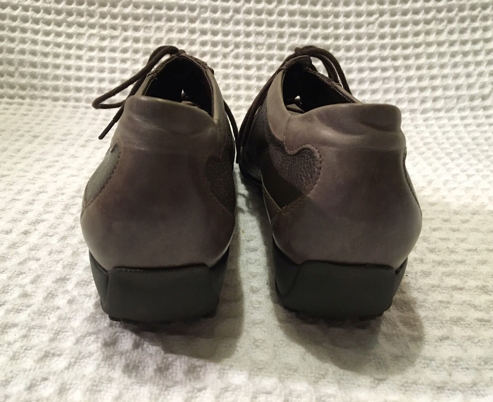 MEPHISTO Air-Relax  349 Leather Leather Leather Lace-up Oxfords shoes - women's 9.5 85d872