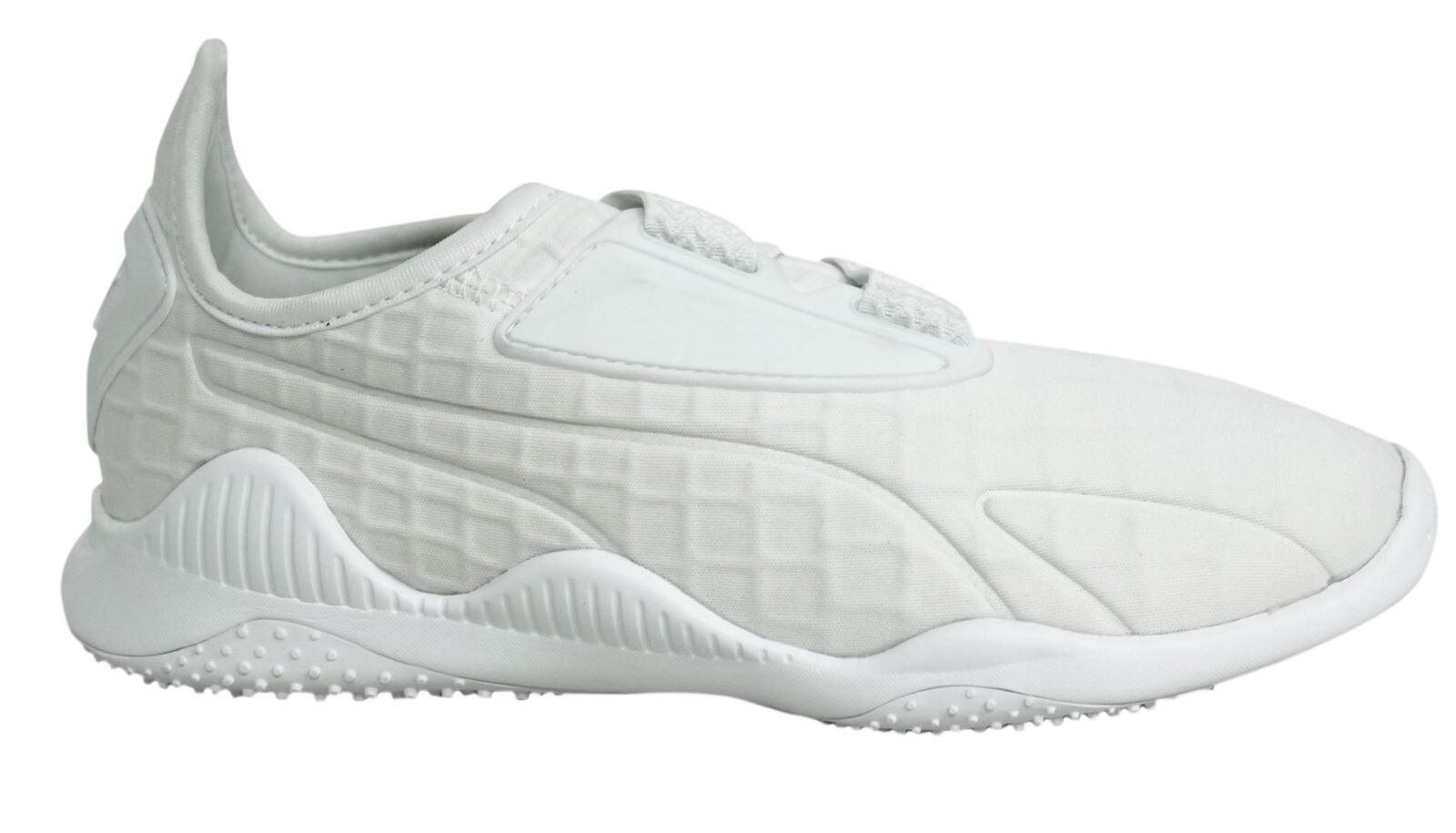 Puma Mostro Sangle Up Blanc Textile Femme Baskets Baskets Baskets 363391 02 M12 | Perpignan