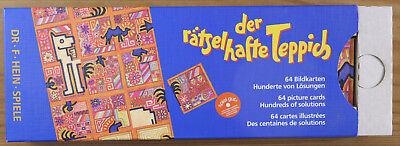 The Puzzle Carpet (Der Ratselhafte Teppich) - Challenging Brain-Teaser  Puzzle 4029364000064 | eBay