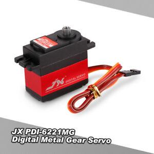 JX-PDI-6221MG-Metal-Gear-4-8V-6V-0-16sec-60-Digital-Servo-Aluminums-Case-U5A4