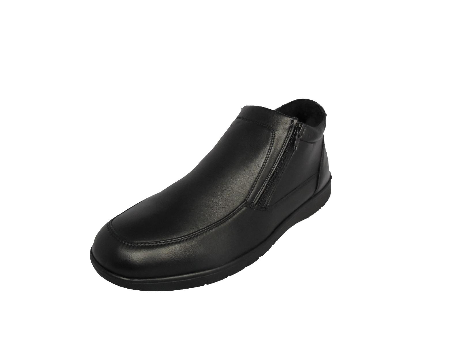 Uomini Ragazzi Ragazzi Ragazzi Dr Keller pelle, Nero Scarpe Inverno Comfort Zip Stivali Casual | lusso  | Scolaro/Ragazze Scarpa  7c1f09