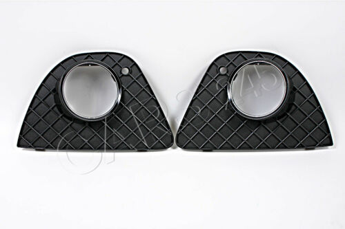 Original Nebelscheinwerfer Gitter Grill Paar BMW 3er E46 Coupe 03-06 Facelift