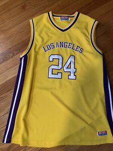 Los Angeles #24 Xl Jersey Fake Kobe Bryant Lakers Jersey   eBay