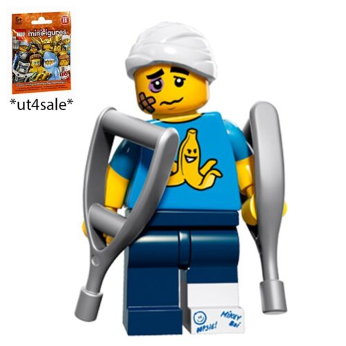 LEGO 71011 MINIFIGURES Series 15 #4 Clumsy Guy with unused code