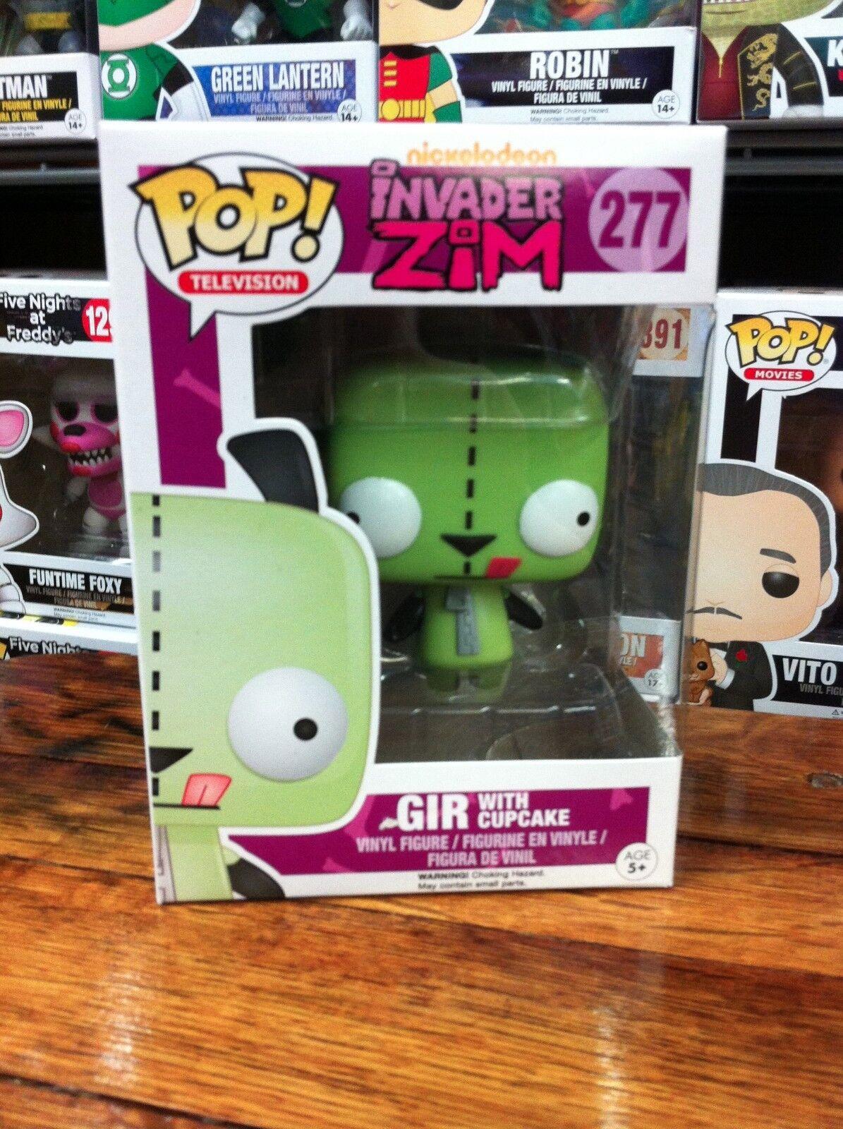 Invader Zim Gir with Cupcake 277 divertiessitoko Pop Vinyl Expert Packaging
