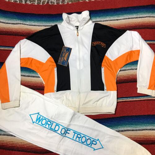90s TROOP tracksuit Sweatsuit W Tags Deadstock 80s