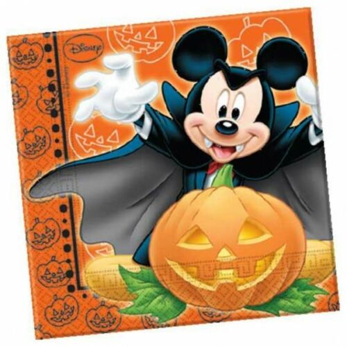 Halloween Napkins Mickey Mouse 20 Party Napkins-Special Price