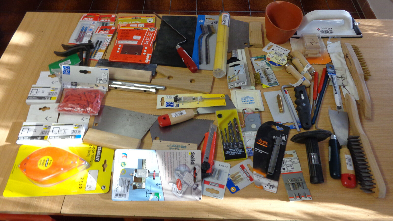 Flohmarktartikel,Werkzeugpaket, neuwertig ( 2 )