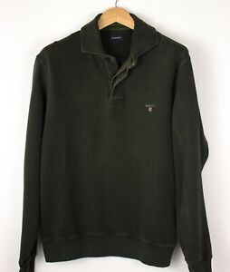 GANT-Men-Polo-Neck-Sweatshirt-Knit-Jumper-Size-L-ATZ186