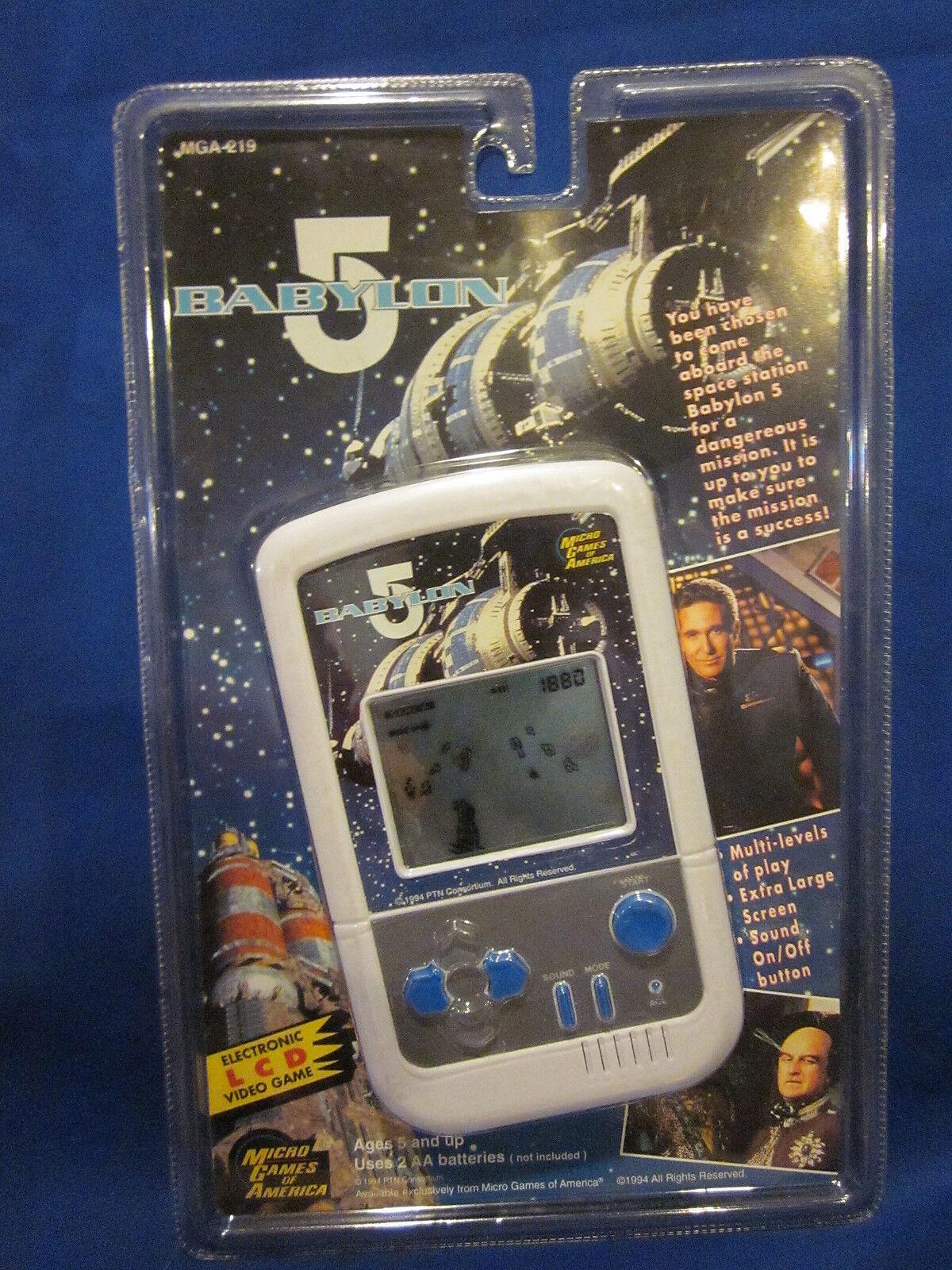 1994 Juegos De Micro De América MGA Babylon 5 LCD Video Juego