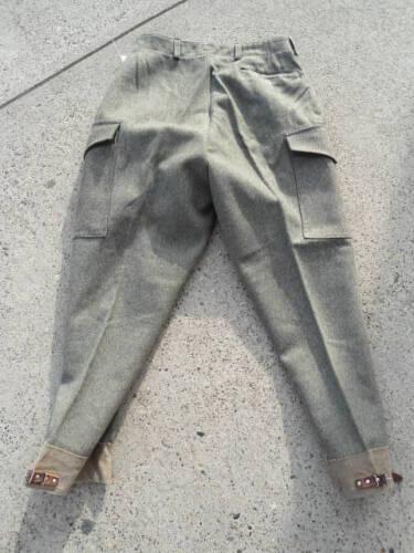 Swedish Army Wool Cargo Pants WWII era