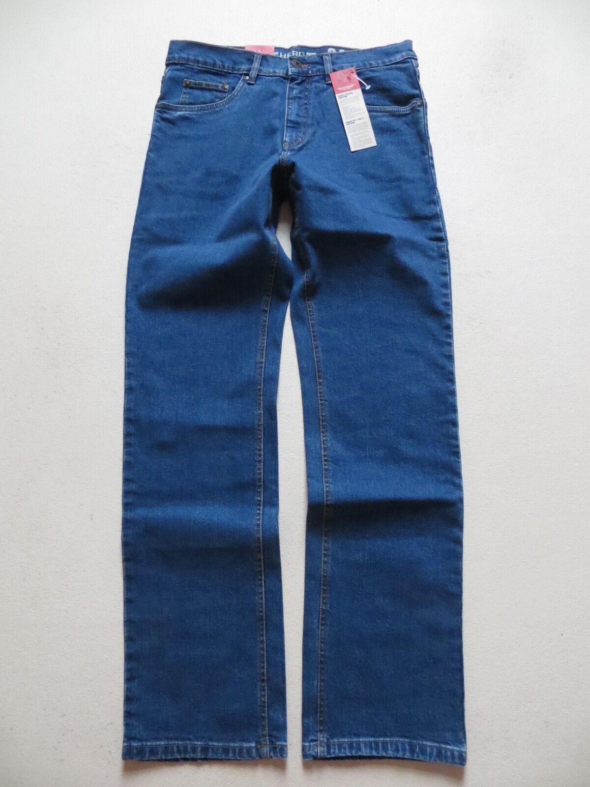 HERO Medoox DENVER Stretch- Jeans Hose W 36 36 36  L 36 NEU    Blau Stone  bequem 1bf8e2