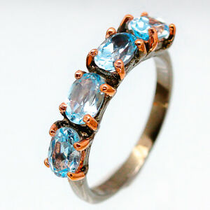 Vintage-style-Natural-Blue-Topaz-925-Sterling-Silver-Fine-Ring-RVS183